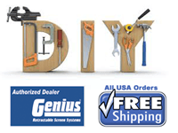 Free Shipping on Genius DIY Retractable Screens from Air Tech.